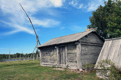 Prawdziwy mały dom Obraz Stock