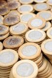 prawdziwy monety Zdjęcie Stock