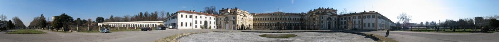 prawdziwy pałac Zdjęcie Royalty Free