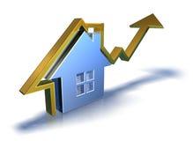 prawdziwy rynek nieruchomości Zdjęcie Stock