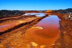 Prawie Mars krajobraz Obrazy Royalty Free