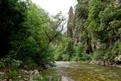 Prawie obcego krajobraz północny Hiszpania Zdjęcia Royalty Free