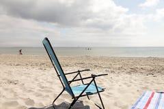 Prawie opróżnia plażę Fotografia Royalty Free