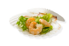 Prawn Appetizer Stock Photography