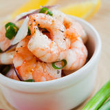 Prawn ceviche Royalty Free Stock Images