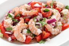 Shrimp ceviche royalty free stock photo