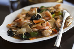 Prawn Chop suey Stock Photography
