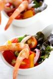 Prawn cocktail salad Royalty Free Stock Images