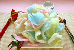 Prawn Crackers Stock Image