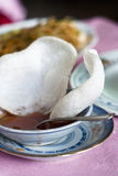 Prawn crackers- Chinese appetizer. Prawn crackers also known as dragon's royalty free stock image
