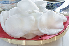 Prawn crackers Royalty Free Stock Photography