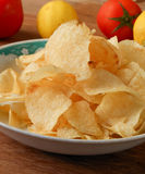 Prawn crackers tranditional  popular snack Royalty Free Stock Images