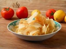 Prawn crackers tranditional  popular snack Royalty Free Stock Image