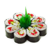 Prawn and Cucumber Roll Royalty Free Stock Photo