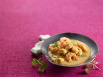 Prawn Curry Royalty Free Stock Photo