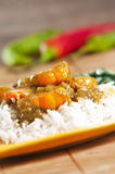 Prawn Curry Royalty Free Stock Photos