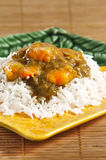 Prawn curry Stock Photos