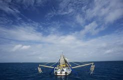 Prawn fishing trawler Gulf of Carpentaria Australia Stock Photography