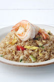 Prawn fried rice Stock Photography