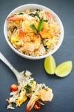 Prawn Fried rice Royalty Free Stock Image