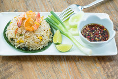 Prawn Fried rice Stock Images