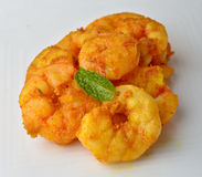 Prawn fry. Indian Prawn fry with spices Royalty Free Stock Photos