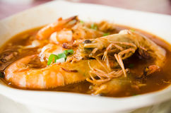Prawn Mee Curry Stock Image