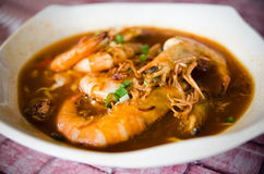 Prawn Mee Curry Royalty Free Stock Image