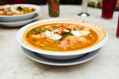 Prawn Mee Curry Royalty Free Stock Images