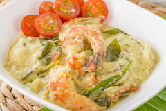 Prawn Molee Royalty Free Stock Photo