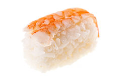 Prawn nigiri sushi Royalty Free Stock Photo