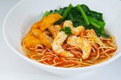 Prawn noodle - Malaysian food Stock Photos