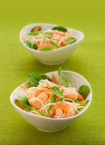Prawn noodle salad Stock Photo