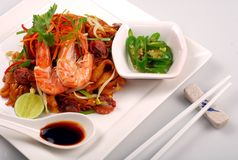 Prawn Noodles Royalty Free Stock Images