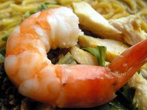 Prawn noodles = mee soto Stock Photography