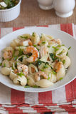 Prawn pasta Stock Images