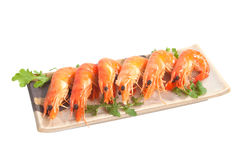 Prawn Platter Royalty Free Stock Image