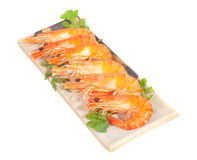 Prawn Platter Stock Photography