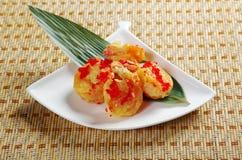 Prawn potato chips chinese Stock Photo