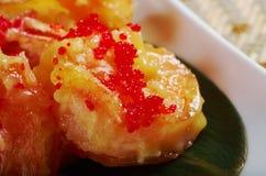 Prawn potato chips chinese Royalty Free Stock Images