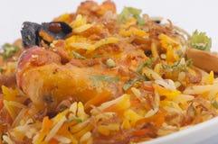 Prawn  rice Royalty Free Stock Images