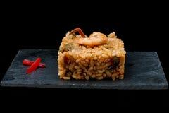 Prawn rice. Royalty Free Stock Photos