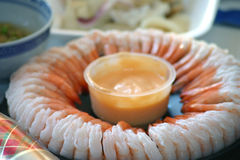 Prawn Ring. King Prawn Ring stock photo
