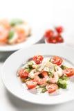 Prawn salad Royalty Free Stock Image