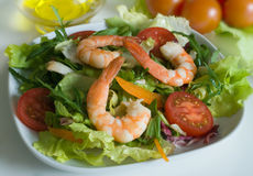 Prawn salad Stock Photos