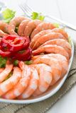 Prawn salad Stock Images