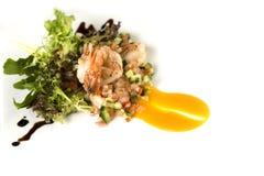 Prawn salad Royalty Free Stock Photography