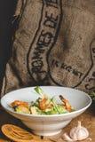 Prawn salad Royalty Free Stock Images