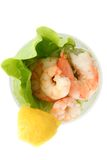 Prawn or shrimp cocktail Royalty Free Stock Images