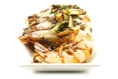 Prawn Shrimp Seafood Dish Meal Stock Photography